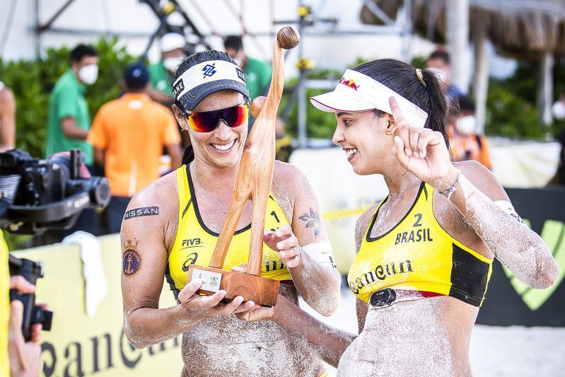 Ágatha/Duda vencem o segundo evento do Hub em Cancun