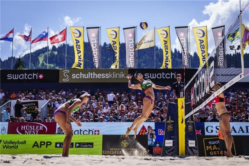 Ana Patrícia/Rebeca e Ágatha/Duda avançam para a semifinal em Gstaad