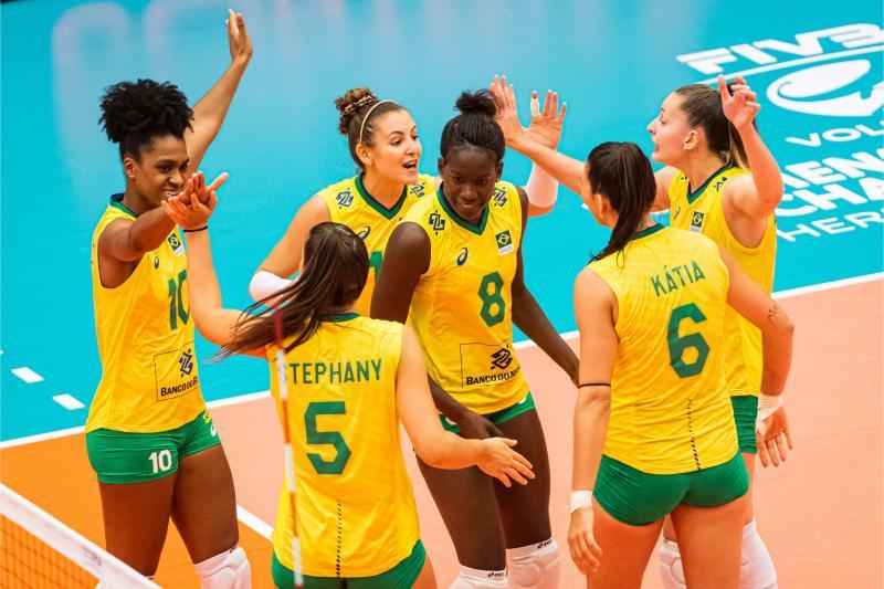 Brasil busca o sétimo lugar contra a República Dominicana