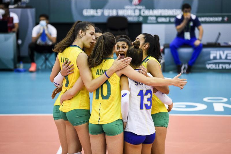 Brasil derrota a Romênia e garante o quinto lugar da competição