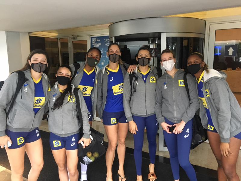 Brasil embarca nesta segunda-feira para Colômbia