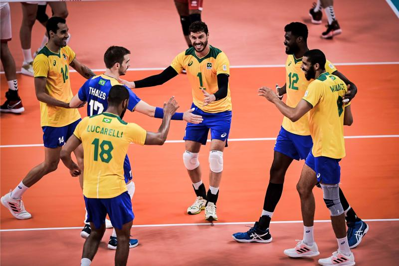 Brasil estreia com vitória sobre a Tunísia