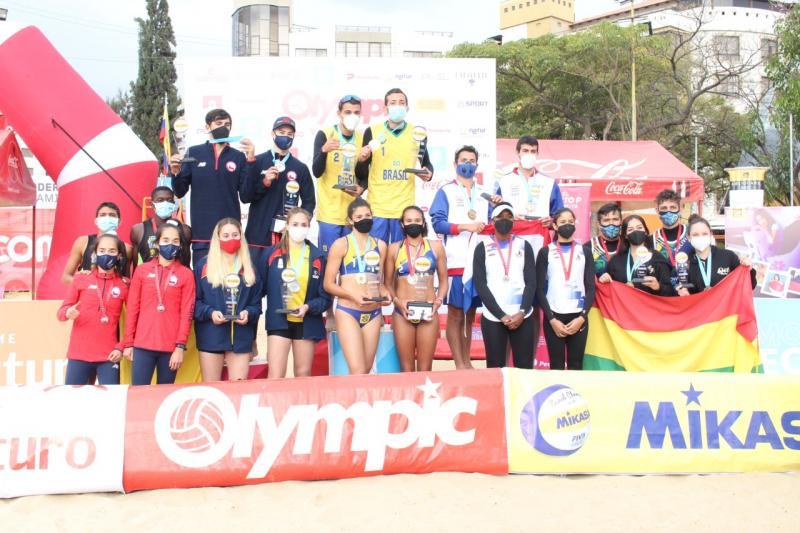 Brasil faz dobradinha no sul-americano sub-19 em Cochabamba