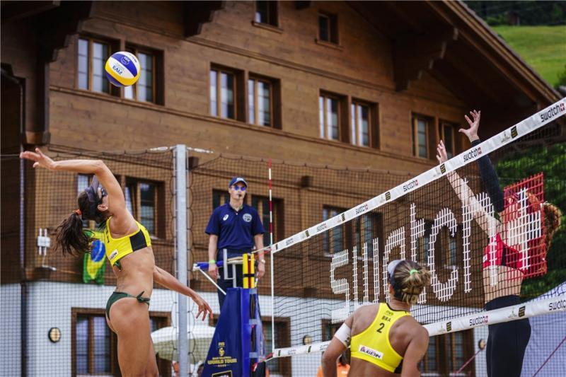 Brasil segue com cinco duplas em Gstaad