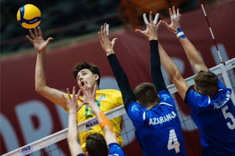Brasil vence a Bielorrússia na segunda rodada em Teerã