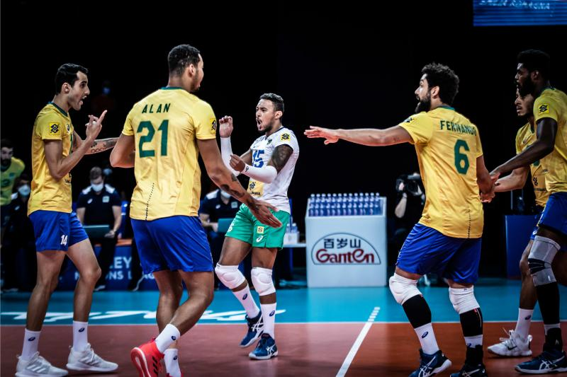 Brasil vence Bulgária e consegue sétima vitória