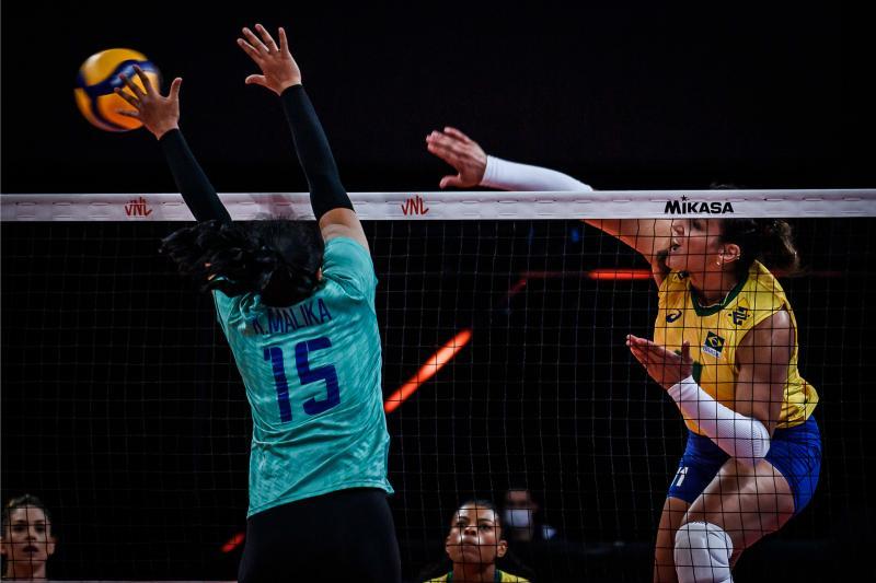 Brasil vence Tailândia e encerra quarta rodada com vitória