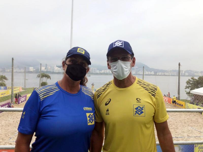 CBV apresenta Roberto Lopes e Mônica Rodrigues como coordenadores técnicos da base