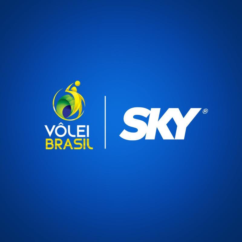 CBV celebra parceria e retorno da SKY ao vôlei brasileiro