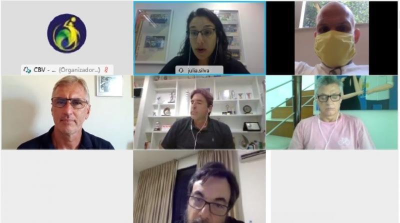 CBV promove primeira reunião com novo coordenador técnico