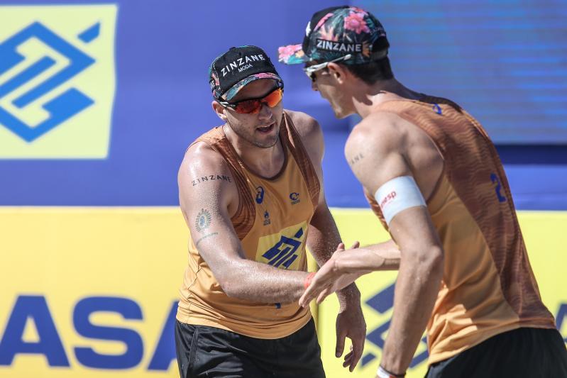 Com retorno de líderes do ranking, oitava etapa masculina define quartas de final
