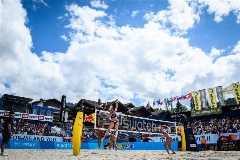 Com três duplas no torneio feminino, Brasil segue com chances de medalhas em Gstaad