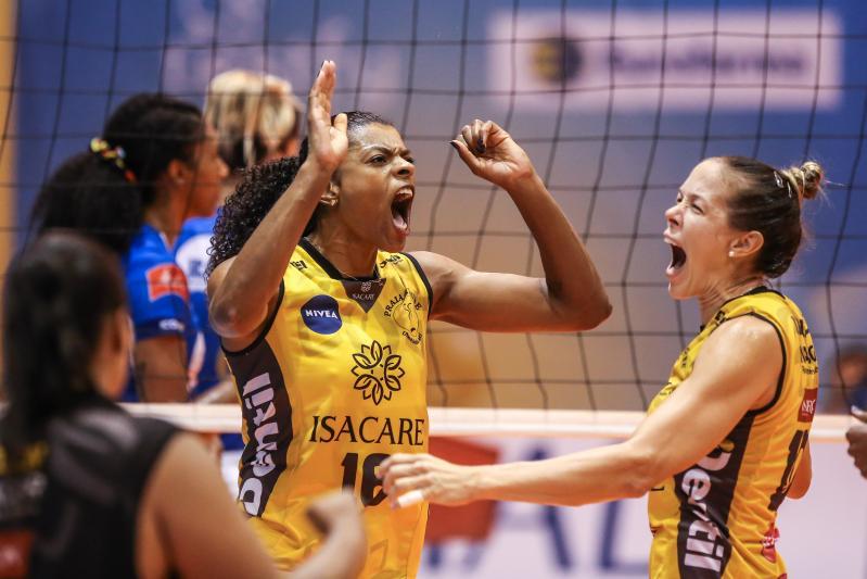 Dentil/Praia Clube abre vantagem na série final contra o Itambé/Minas