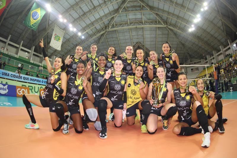 Dentil/Praia Clube vence Itambé/Minas e fica com o título pela quarta vez