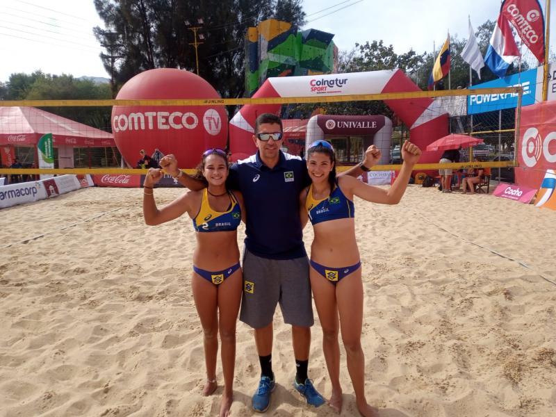 Duplas do Brasil estreiam com vitórias no sul-americano sub-19 na Bolívia