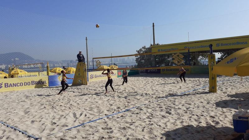 Duplas do Rio de Janeiro e do Paraná são destaque nas semifinais