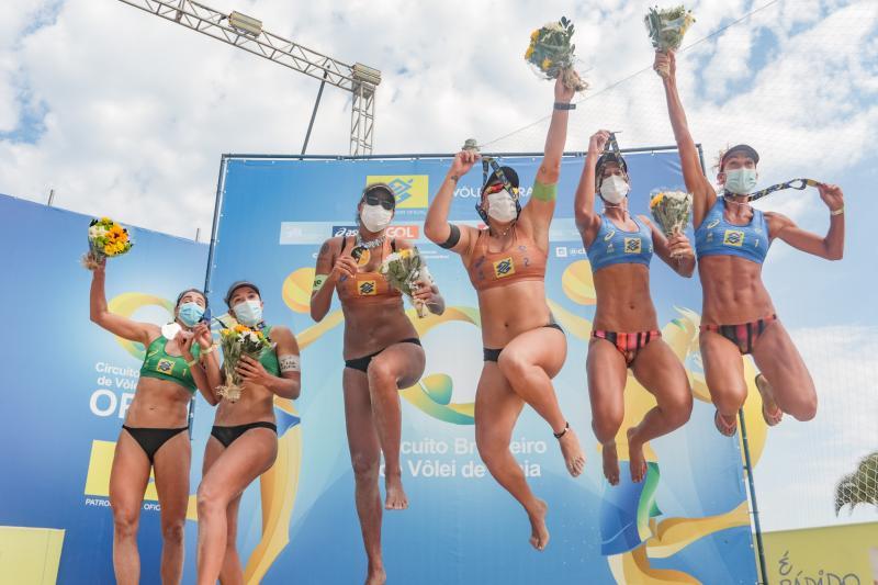 Duplas olímpicas conquistam nona etapa Open no Rio de Janeiro