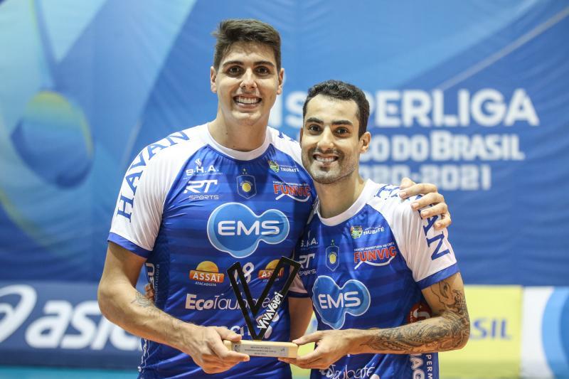 EMS Taubaté Funvic abre vantagem contra Minas Tênis Clube