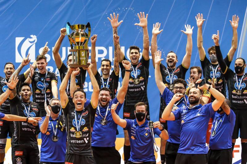 EMS Taubaté Funvic vence Minas Tênis Clube e é campeão pela segunda vez
