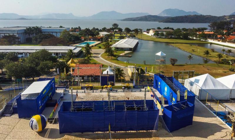 Fase semifinal será realizada no CDV, em Saquarema (RJ)