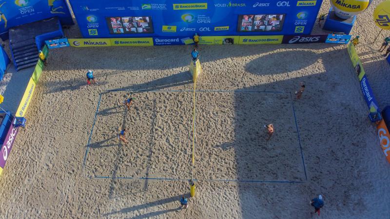 Final da sexta etapa terá duelo entre Ágatha/Duda e Bárbara Seixas/Carol Solberg
