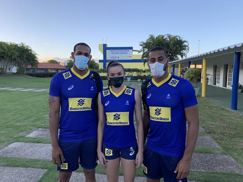 Gabi, Leal e Lucarelli fazem primeiros treinos em Saquarema (RJ)