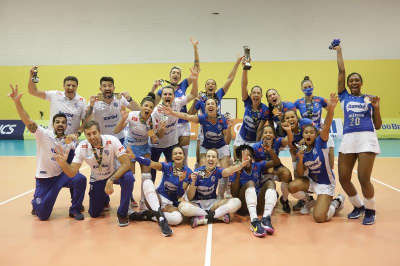 Itambé/Minas vence Dentil/Praia Clube e é campeão pela segunda vez