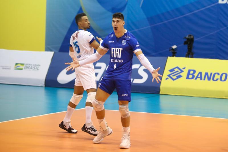 Minas Tênis Clube vence Vôlei UM Itapetininga  no primeiro jogo do playoff semifinal