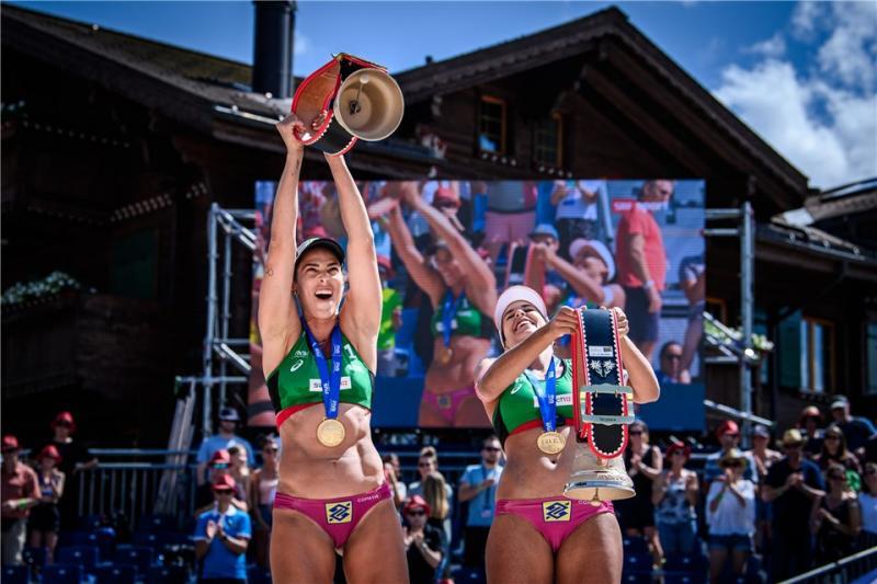 No último torneio antes de Tóquio, duplas olímpicas fazem dobradinha em Gstaad