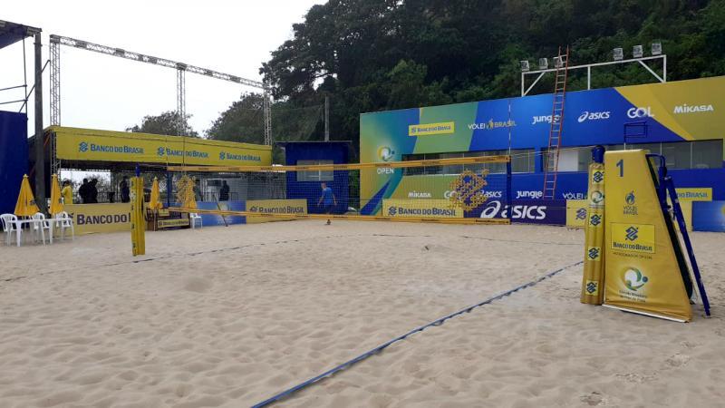 Primeira etapa abre calendário 2021 do vôlei de praia nesta sexta-feira
