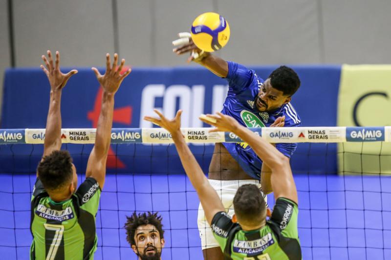 Sada Cruzeiro e Montes Claros América Vôlei definem última vaga na semifinal