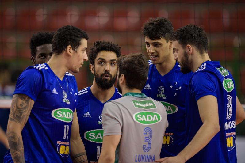 Sada Cruzeiro e Sesi-SP se enfrentam nesta terça-feira