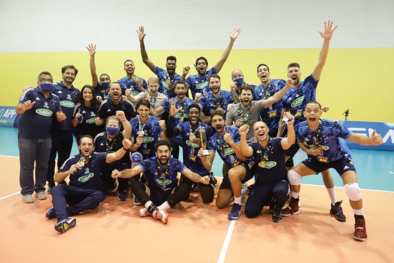 Sada Cruzeiro vence EMS Taubaté Funvic e fica com o título pela sexta vez