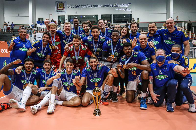 Sada Cruzeiro vence Funvic/Educacoin/Natal e fica com o título pela quarta vez