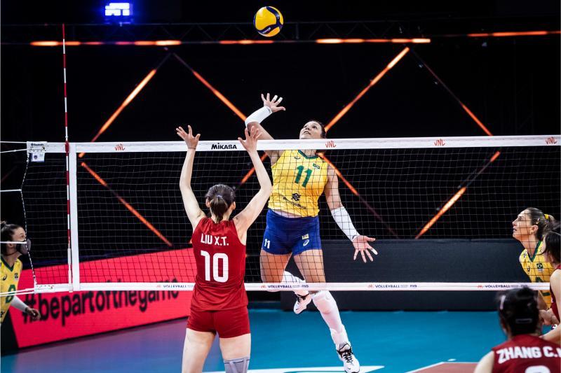 Seleção feminina é superada pela China no tie-break