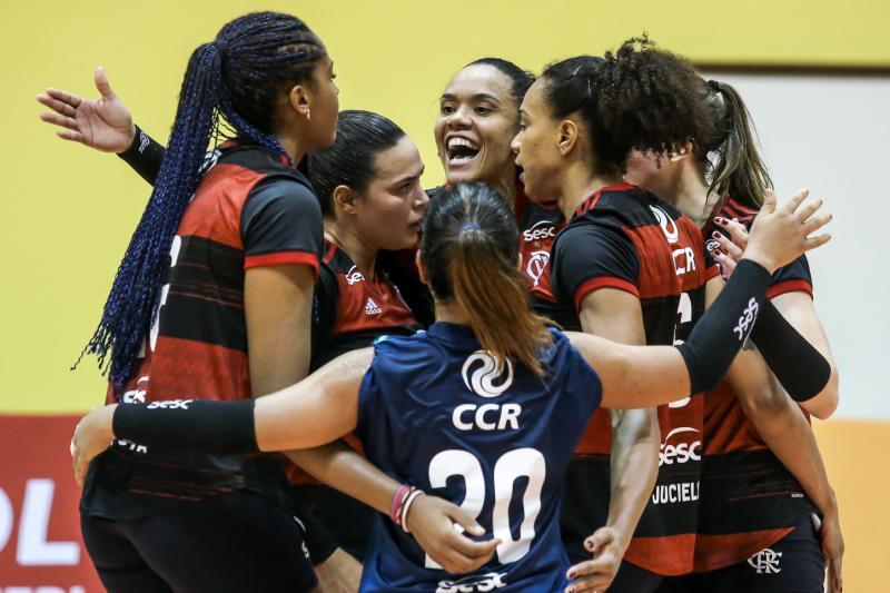 Sesc RJ Flamengo e Osasco São Cristóvão Saúde fazem clássico na rodada