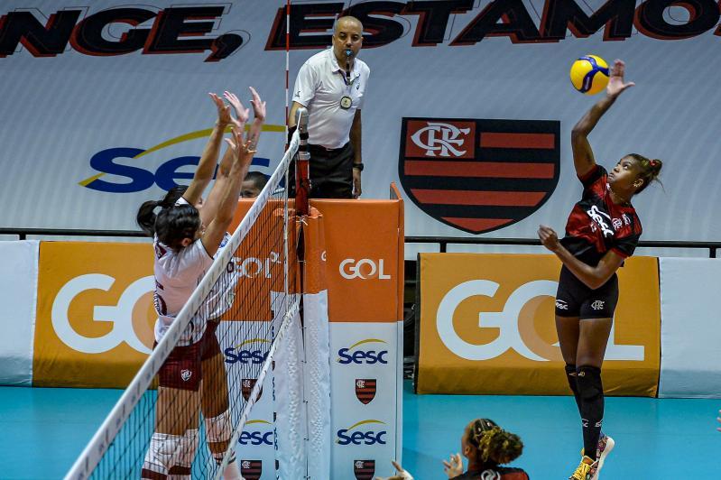 Sesc RJ Flamengo vence duelo carioca contra o Fluminense