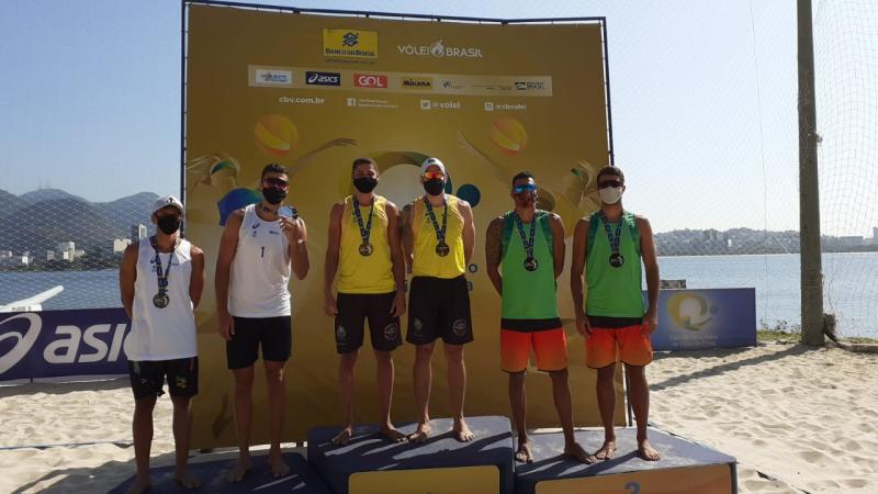 Thamela/Elize e Hevaldo/Adelmo são campeões da segunda etapa
