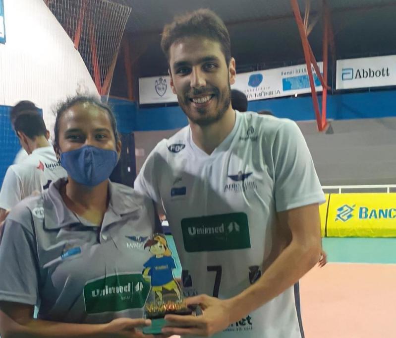 Unimed/Aero vence o Vila Nova FC por 3 a 0