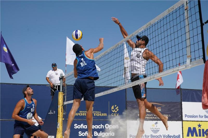 Vinicius Cardoso e Matheus Maia avançam à semifinal em Sofia